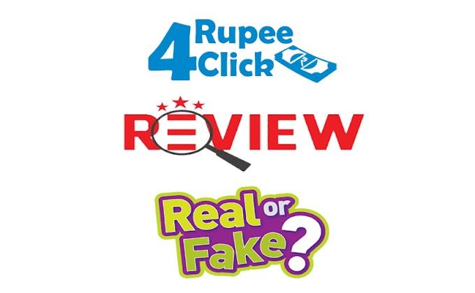 Rupee4click : Online Earning Website Review. वेबसाइट समीक्षा