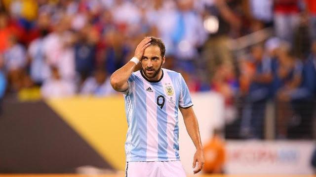 Gonzalo Higuain Pensiun Bela Timnas Argentina