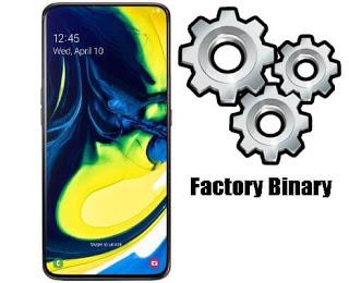 روم كومبنيشن Samsung Galaxy A80 SM-A8050