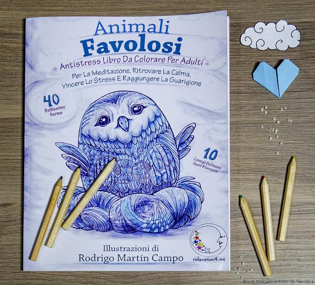 Animali Favolosi Libro Antistress