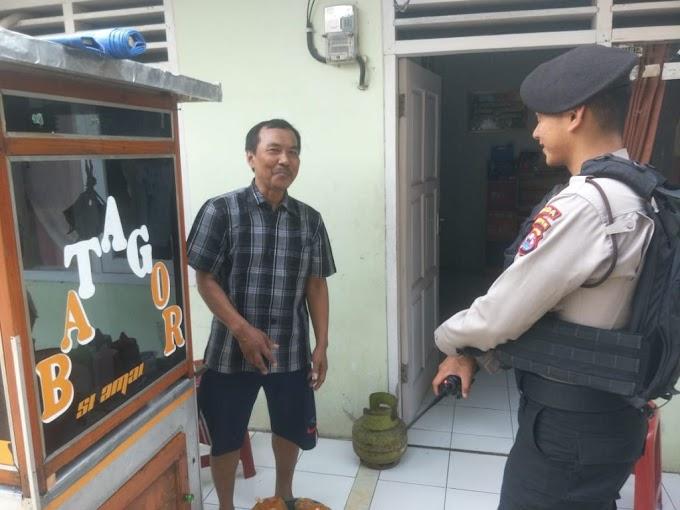 Patroli Gunakan Kijang 1431-XIII, Ditsamapta Polda Banten Jaga Keamanan Masyarakat
