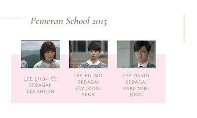 Pemeran Who Are You : School 2015