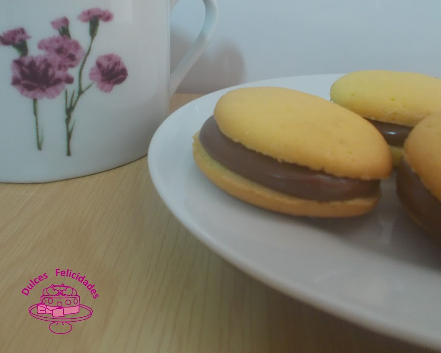 Whoopie pies con nutella
