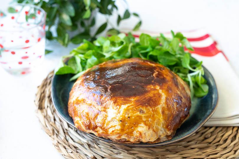 recette reblochon pate feuilletée