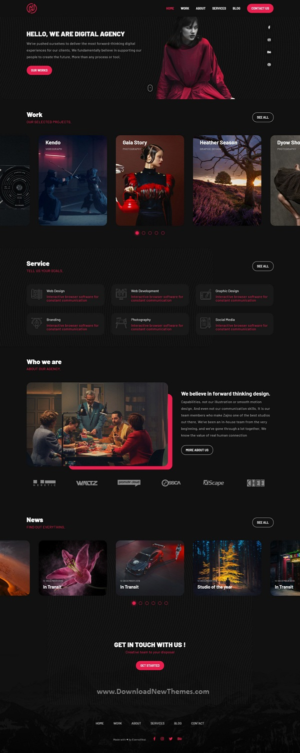 Best Digital Agency HTML5 Template