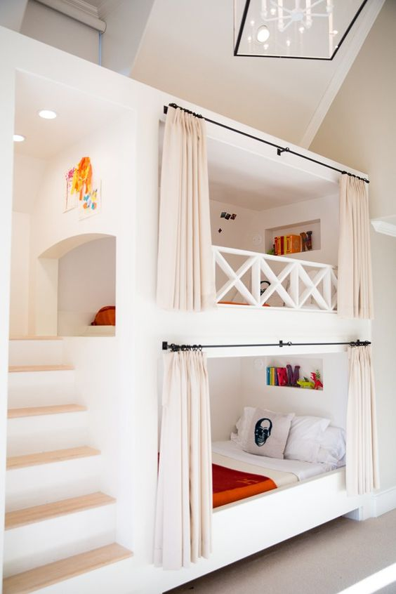 Girl S Bunk Bed Perpindicular