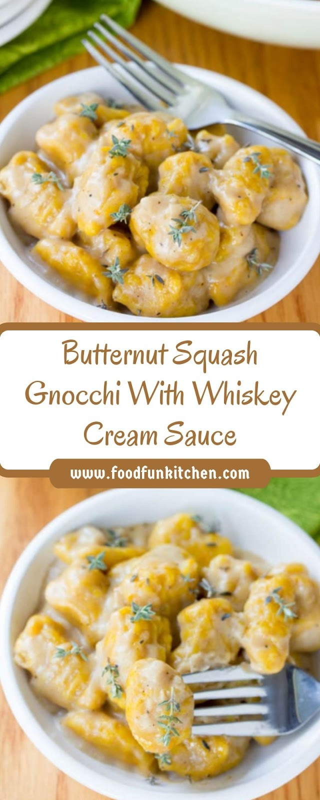 A well worth-while exertions of love, AKA Butternut Squash Gnocchi with Whiskey Cream Sauce.