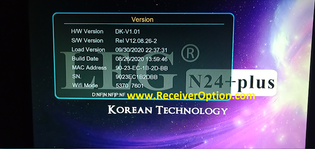 LEG N24+ PLUS 1507 1G 8M NEW SOFTWARE WITH ECAST & DIRECT BISS KEY ADD OPTION