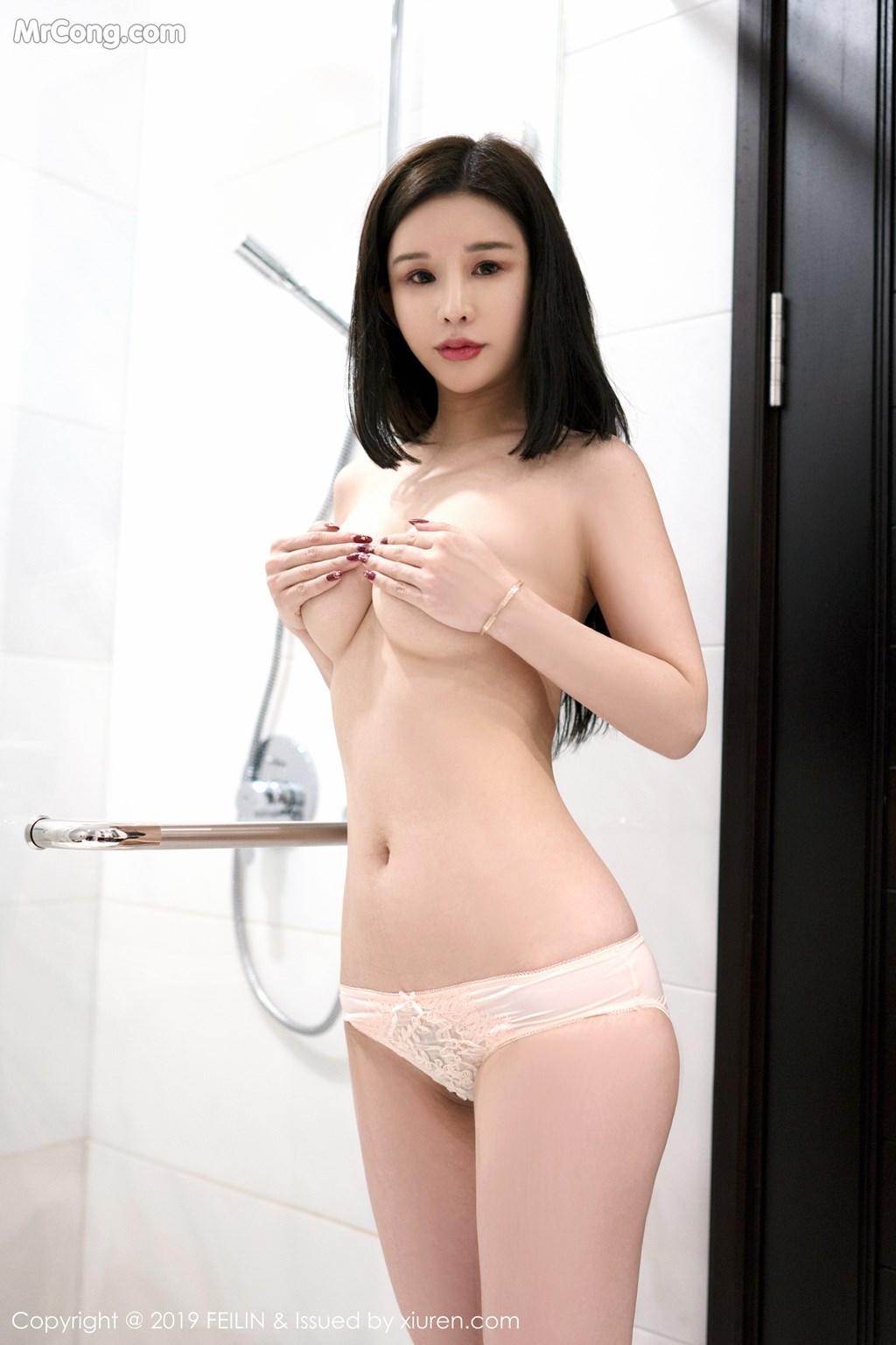 Image FEILIN-Vol.184-Zhang-Yu-Meng-MrCong.com-008 in post FEILIN Vol.184: Zhang Yu Meng (张雨萌) (41 ảnh)