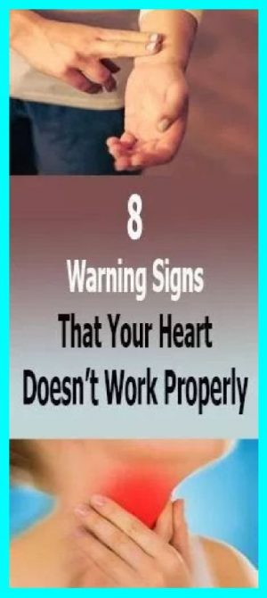 Eight Warning Signs That Your Heart Is Not Working Well