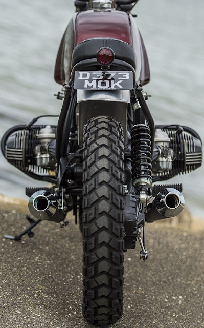BMW R80 1996 By Side Rock Cycles Hell Kustom