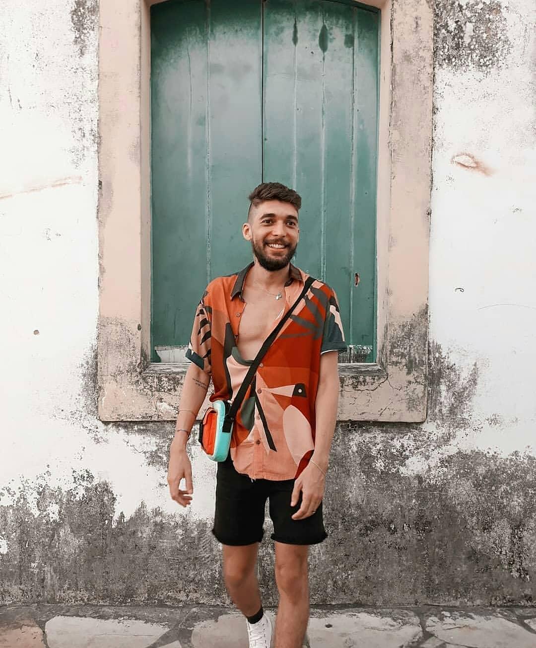 Look Masculino estiloso para o verão carnaval 2019