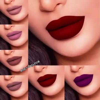 كيفية الحصول على أحمر الشفاه المخملي بطريقة سهلة How to get a velvety lipstick in an easy way