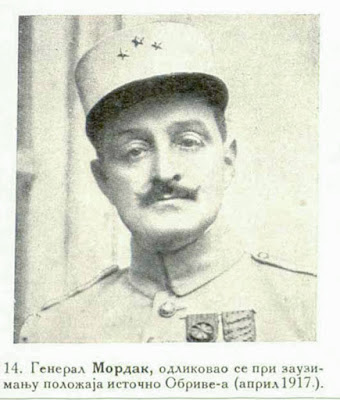 General Mordacq, distinguished himself most particularly at the taking of the position east of Auberive (April 1917).