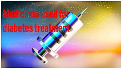 Diabetes treatment through medications