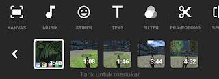 videos merged automatically