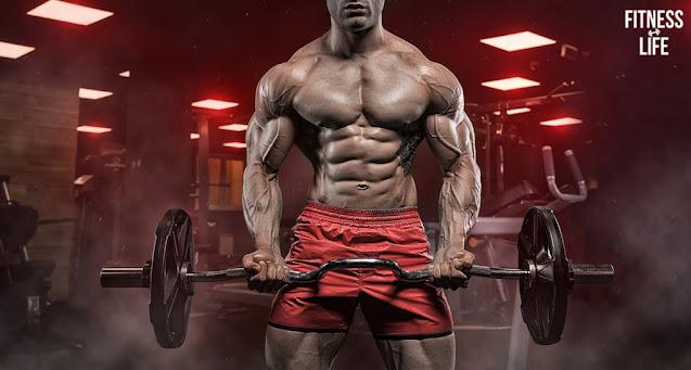 تضخيم العضلات في البيت بدون حديد