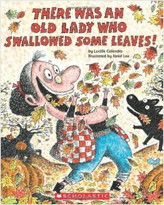Fall Book for Primary Kids - There was an Old Lady Who Swallowed Some Leaves