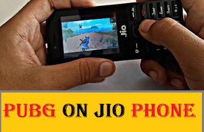 PUBG on Jio Phone