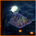 Farmville Spookstown Soiree Farm -Halloween Barn (Unwither Ring Building)