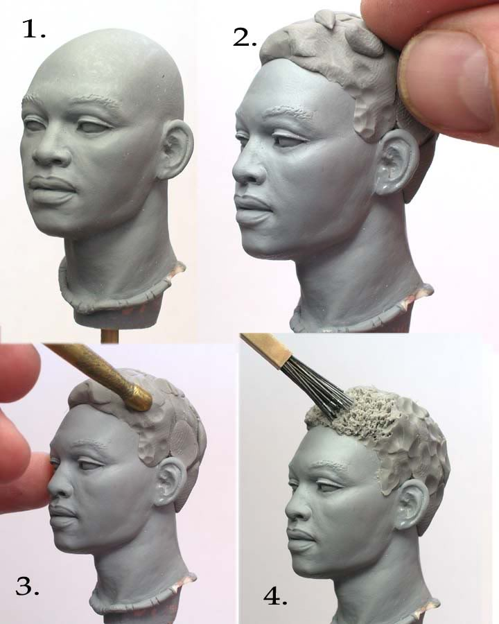 Sculpting Tutorials Sculpting Afro Textured Hair By Mark