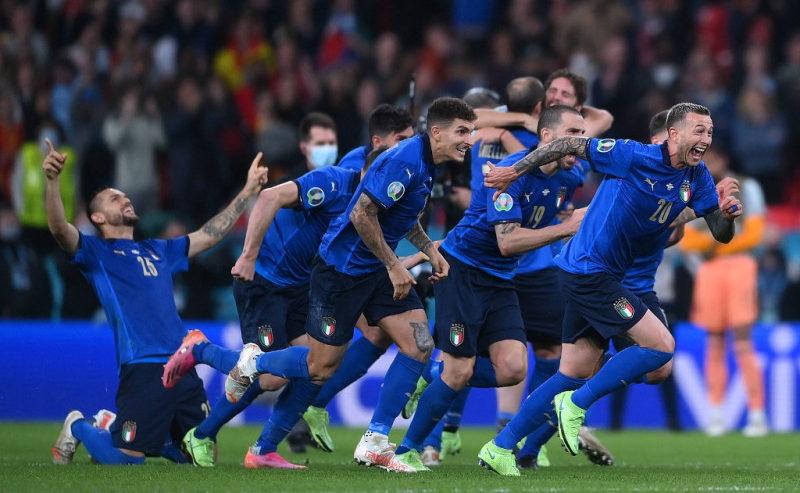 Italia ke Final Euro 2020, Menang Adu Penalti vs Spanyol 4–2