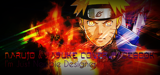 Naruto & Sasuke Cover Facebook