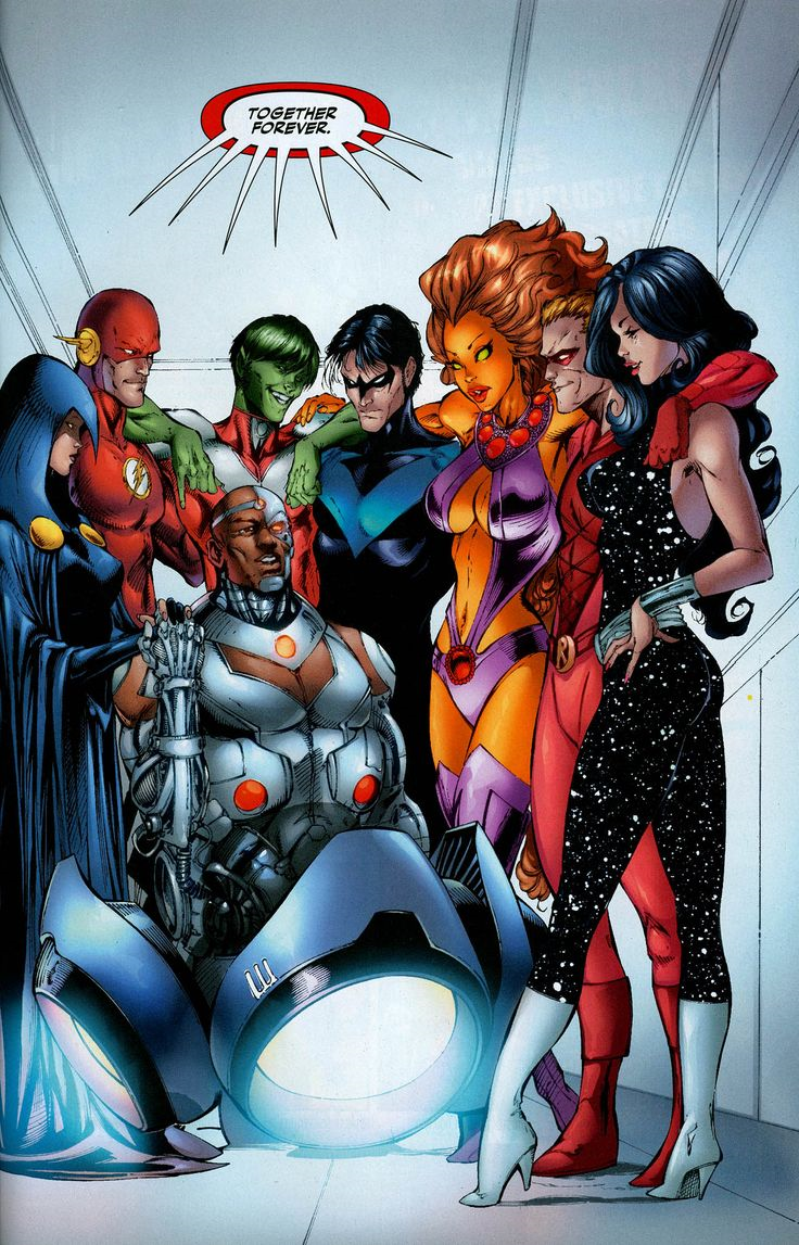 List Of Teen Titans Characters