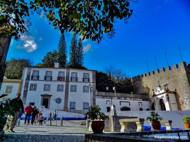 Praça de Santa Maria, Óbidos, Portugal