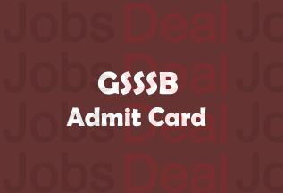 GSSSB Work Assistant Admit Card 2017