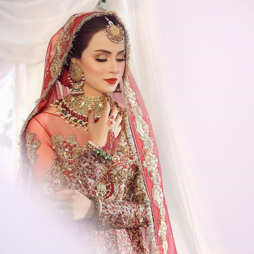 Nimra Khan New Bridal Photo Shoot