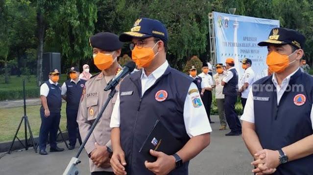 Positive Rate dibawah 5%, Anies: Kondisi Covid-19 di Jakarta Sudah Benar-benar Terkendali
