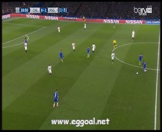 اهداف مباراة باريس سان جيرمان و تشيلسي يوتيوب  دورى ابطال اوربا