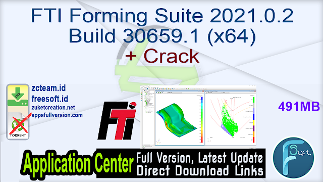 FTI Forming Suite 2021.0.2 Build 30659.1 (x64) + Crack_ ZcTeam.id
