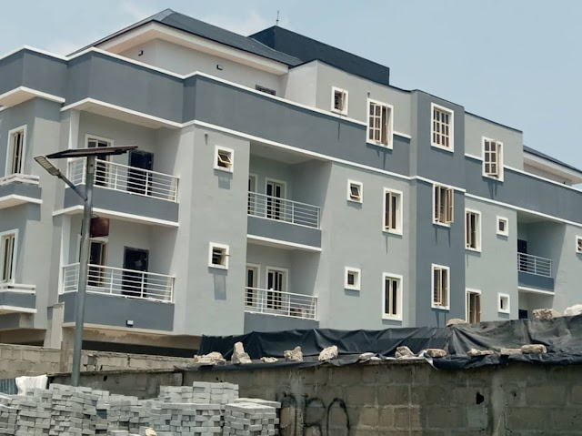 Units of 3 Bedroom serviced Apartment for rent in IKATE Elegushi