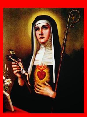 Resultado de imagen para Santa Gertrudis, Patrona de las personas místicas-16 de noviembre