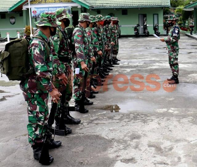 Ratusan Anggota  Kodim 0106 Aceh Tengah Laksanakan UTP Umum