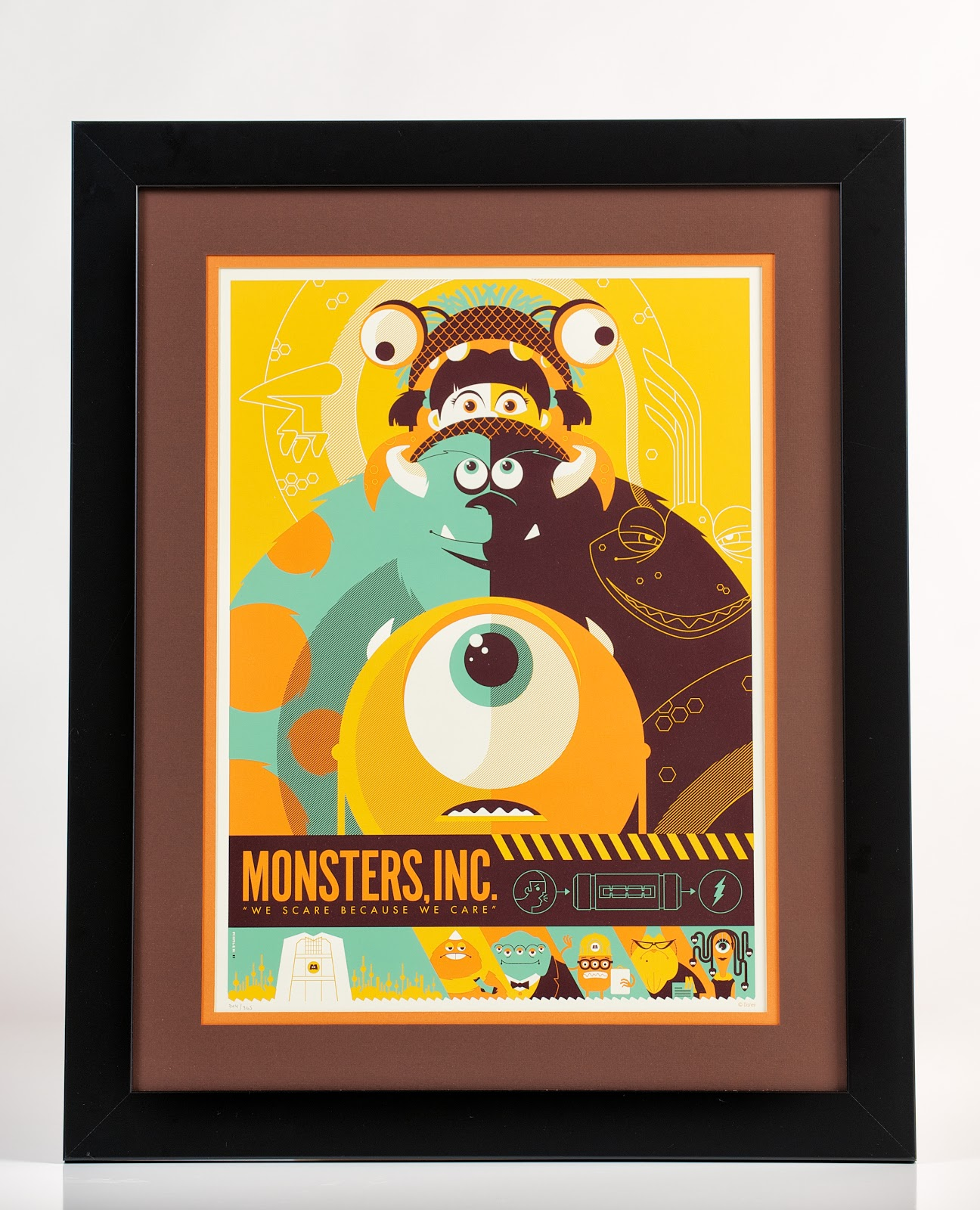 Dorable Monsters Inc Wall Art Gift - The Wall Art Decorations ...