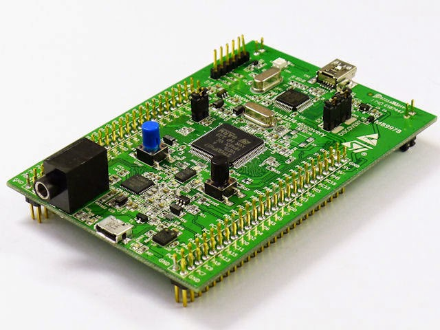 Embedded System Engineering: STM32F4 Discovery Tutorial 1