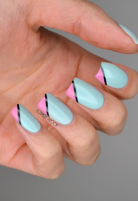 NAILS | Spring Colourblocking with Dior #ManiMonday