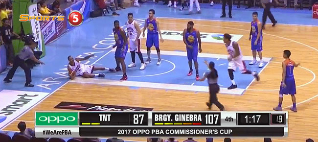 Ginebra def. TNT, 107-89 (REPLAY VIDEO) April 23