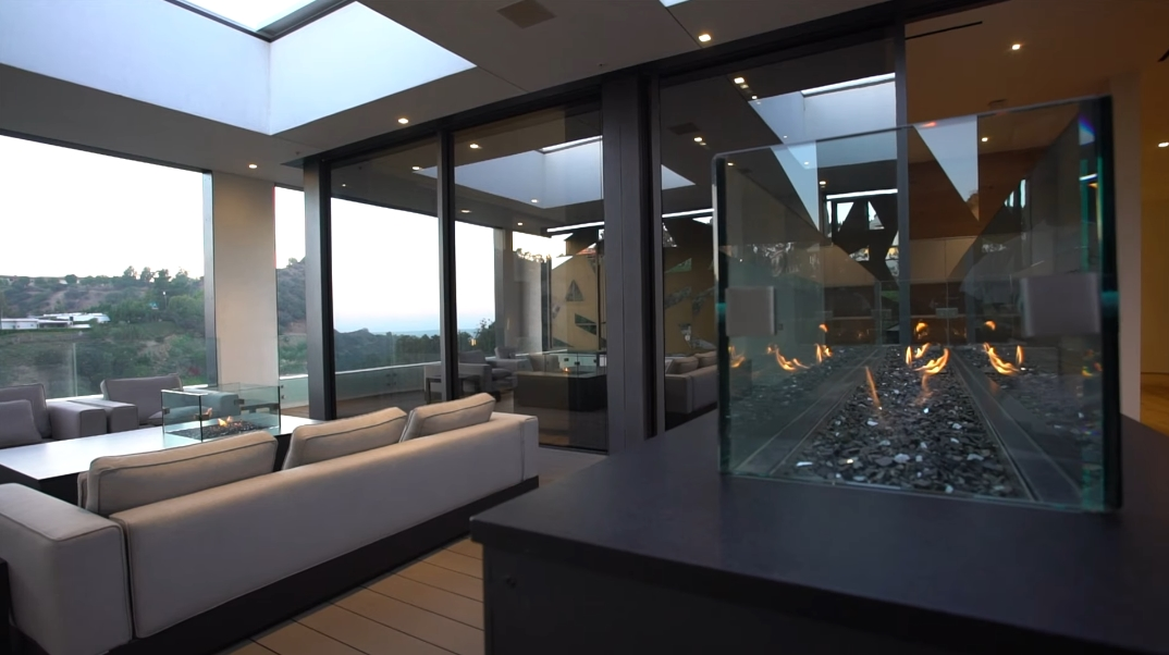 63 Interior Photos vs. Tour 2341 Gloaming Way, Beverly Hills, CA Ultra Luxury Contemporary House