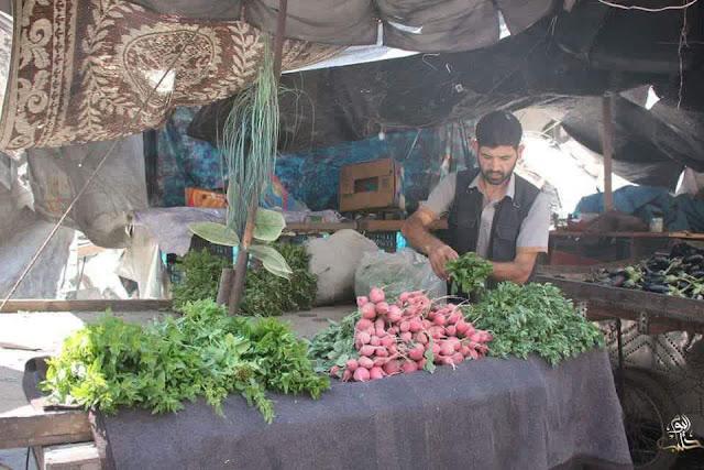 pasar di timur aleppo sayur dan buah 5