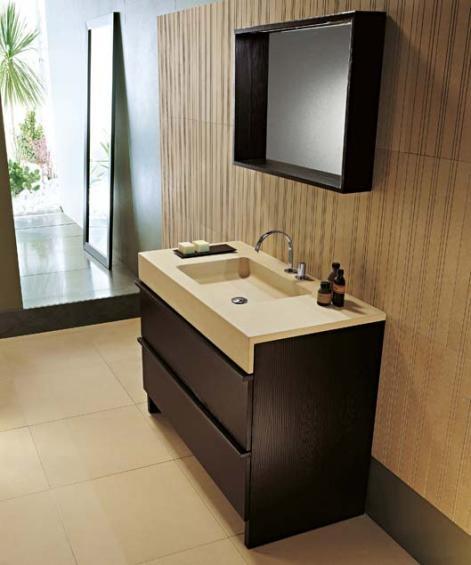 Muebles modernos para el ba o con espejos ba os y muebles - Muebles de bano para ninos ...
