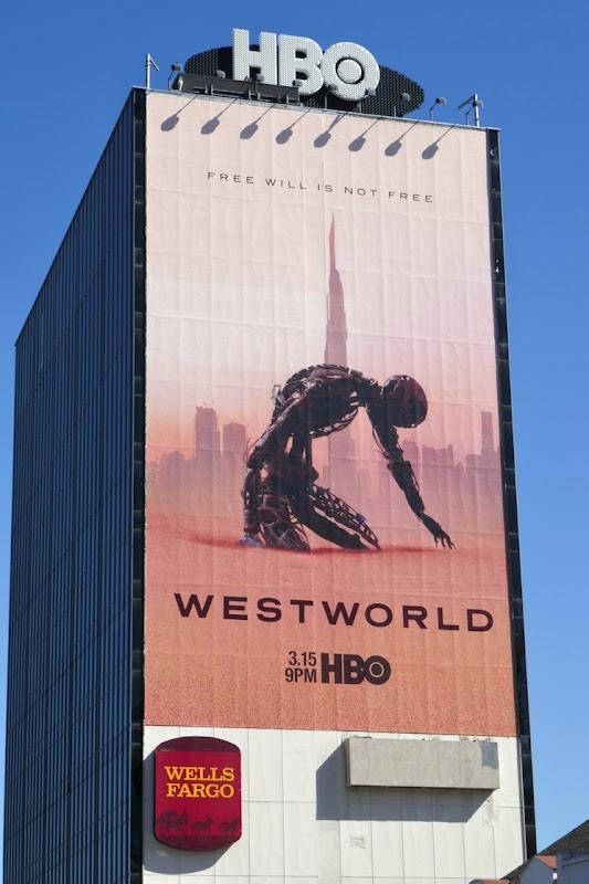Giant Westworld season 3 billboard