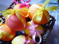 Шоколадные яйца в яичной скорлупе