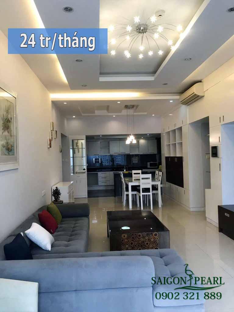 Saigon Pearl Topaz 1 cho thuê gấp căn hộ cao cấp 3 phòng ngủ - hình 1