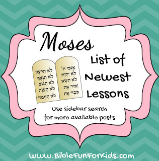 http://www.biblefunforkids.com/2014/03/moses-lesson-list-with-links.html