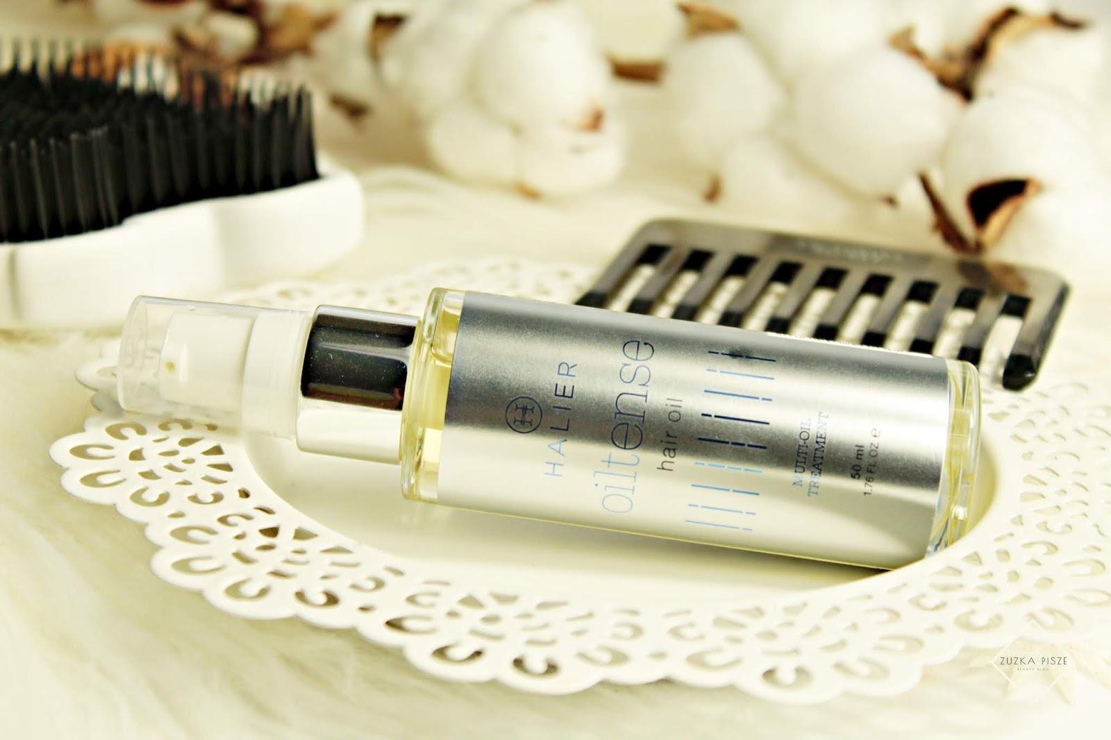 Intensywnie regenerujący olejek do każdego rodzaju włosów OILTENSE - HALIER