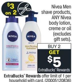 FREE Nivea Body Lotion at CVS 12/13-12/19